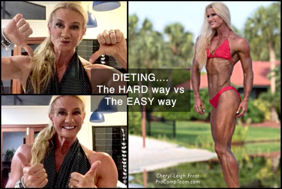 Dieting - the hard way or the easy way