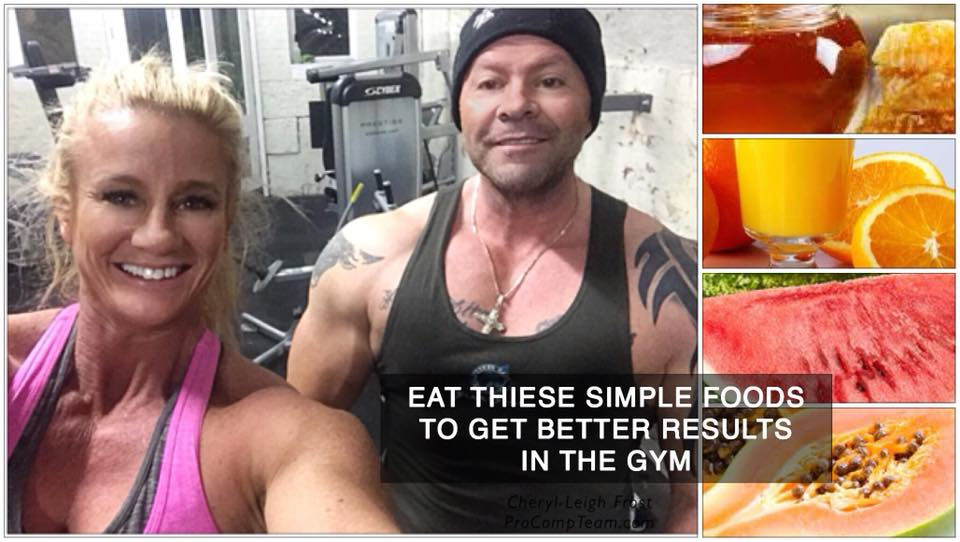 SIMPLE FOODS TO EAT FOR GREATER RESULTS IN GYM