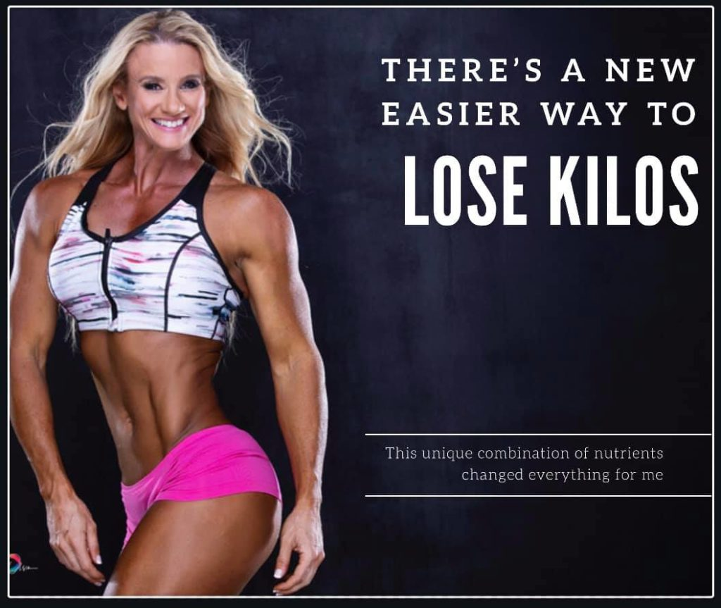 THERE IS A NEW EASIER WAY TO LOSE KILOS